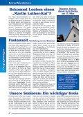 B e g e g n u ng e n - Evangelische Pfarrgemeinde Leoben - Page 6