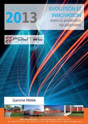 la gamme MANA - AMS Technologies
