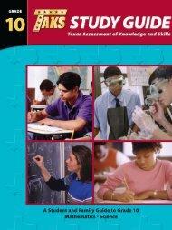 grade 10 math & science study guide - Liberty Hill High School