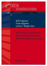 Assessment and Future Directions of Nonlinear Model Predictive ...