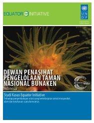 dewan penasihat pengelolaan taman nasional ... - Equator Initiative