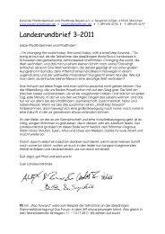 Landesrundbrief 3-2011 - BdP Landesverband Bayern