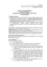 Jelgavas novada pašvaldības nekustamā īpašuma Izsoles noteikumi