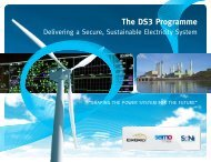 The DS3 Programme - Eirgrid