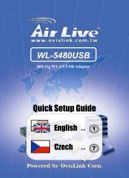 AirLive WL-5480USB QSG