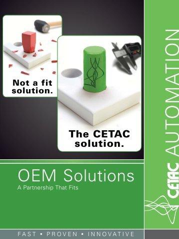 OEM Services Brochure - CETAC Technologies