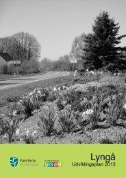 Klik og download udviklingsplan for Lyngå - Favrskov Kommune