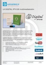 Esite Pdf. - WebHill.fi -Verkkokauppa