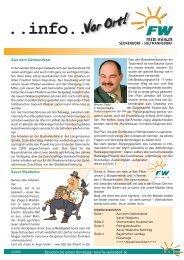 Info 02-09quer:Layout 1.qxd - Freie Wähler Landkreis Fürth