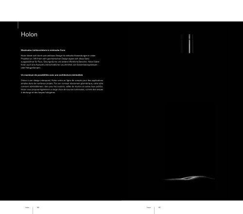 Maximales Lichtererlebnis in minimaler Form Holon bietet ... - Kreon