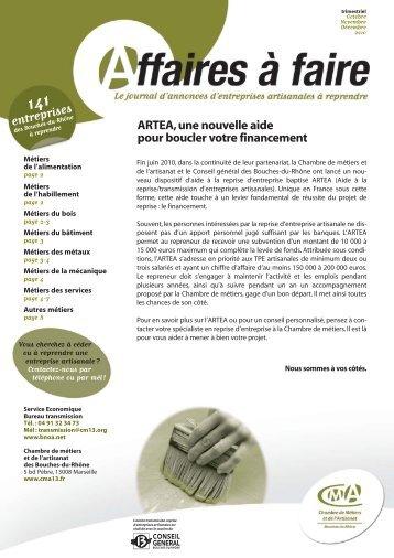 entreprises - Chambre de Métiers et de l'Artisanat des Bouches-du ...