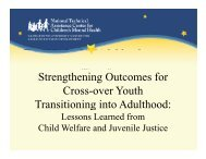 Strengthening Outcomes for Cross over Youth Cross-over Youth ...