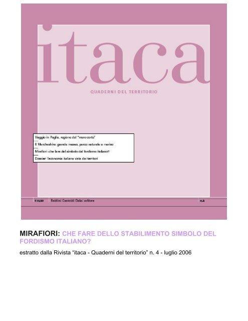 mirafiori - Torino Strategica