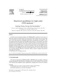 Dual-level parallelism for high-order CFD methods - Department of ...