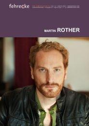 MARTIN ROTHER - Fehrecke