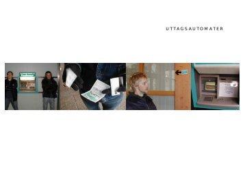 UTTAGSAUTOMATER - Certec