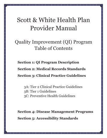 Acupuncture Scott White Health Plan