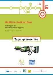 Mobilität im ländlichen Raum - RM Austria
