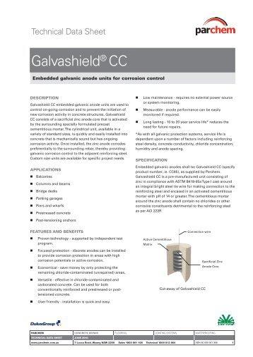 Galvashield® CC - Parchem