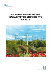 Bilan Carbone® 2011 - RTE