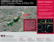 SEC Estrella Pkwy & Elliot Rd - Property Line