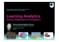 Learning Analytics - Projects - The Open University