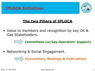 IPLOCA Initiatives - IPLOCA.com