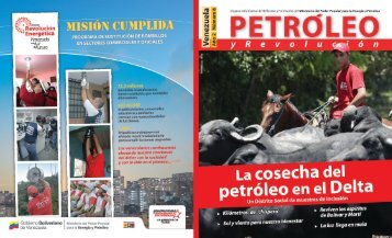 Petróleo y Revolución - Año 2 - Ministerio del Poder Popular de ...