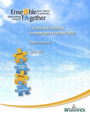 Rapport Annuel; 2010-2011 - Government of New Brunswick