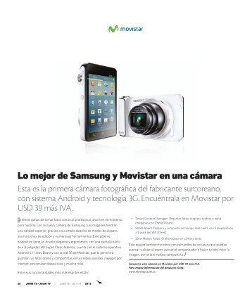 Lo mejor de Samsung y Movistar en una cámara - Abordo.com.ec