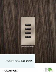 What's New Fall 2012 - CE Pro