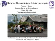KamLAND current status & future prospects