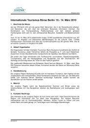 Internationale Tourismus Börse Berlin/ 10.- 14 ... - Jungfrau Region