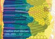 Short Courses 2010-11.pdf - Arts University Bournemouth