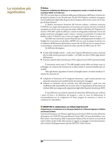 Parte 2 - Cooperazione Italiana allo Sviluppo - Ministero degli Affari ...