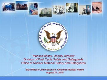Advanced Fuel Cycle - Blue Ribbon Commission on America's ...