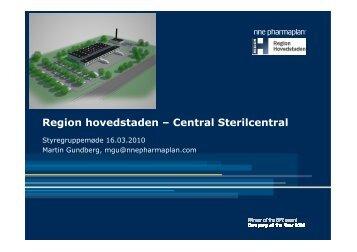 Central Sterilcentral - Region Hovedstadens Psykiatri