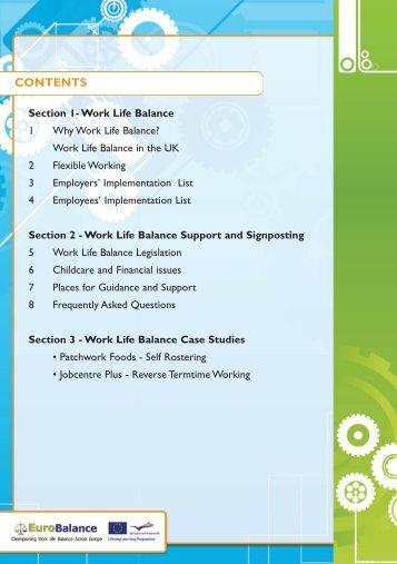 Work Life Balance - Wrexham County Borough Council