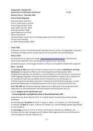 4. Statusbericht vom Januar 2011 - Stolpersteine Gelnhausen