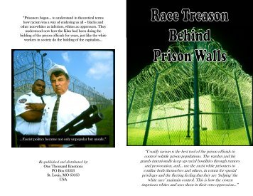 """""""Usually racism is the best tool of the prison officials to ... - Zine Library"""