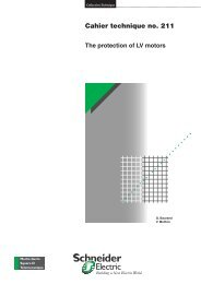 The protection of LV motors - Schneider Electric