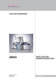 Install & Operations Manual.pdf - Hobart Food Equipment