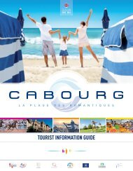 TOURIST INFORMATION GUIDE - Cabourg