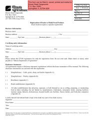 Halal Registration Form - Illinois Department of Agriculture