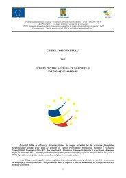 Ghid si Anexe Internationalizare - Apel 3 - Ministerul Fondurilor ...