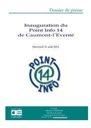 Dossier de presse - Conseil général du Calvados