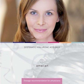 SYSTEMATIC HYALURONIC ACID GELS Dosage ... - Skin & Vision