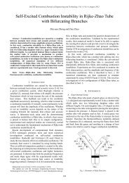 Self-Excited Combustion Instability in Rijke-Zhao Tube with ... - IJET