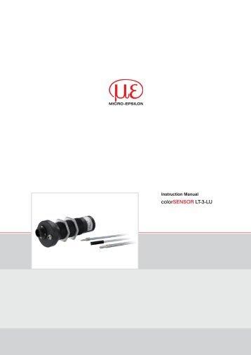 colorSENSOR LT-3-LU - Micro-Epsilon