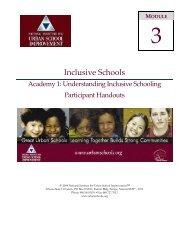 Inclusive Schools - NIUSI Leadscape